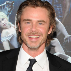 Sam Trammell guest hosting The Daily 10 on E! tonight