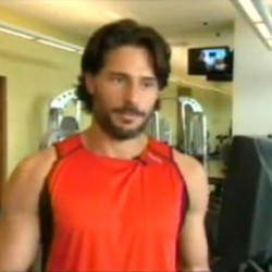 Joe Manganiello talks about getting ripped for his part of Alcide