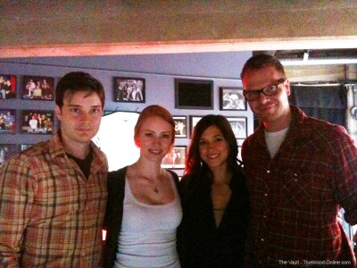 michael deb ciera jim61210lt 400x300 True Blood Cast Participates in iOWest Festival