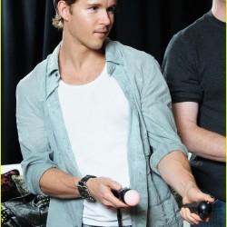 Ryan Kwanten at Sony PlayStation Preview Suite
