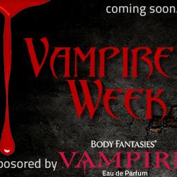 Next Week is Vampire Week on Girl2Watch!