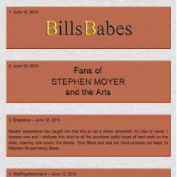 The 'Fans of Stephen Moyer Wall' is now open