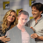 True Blood cast at the Comic Con Panel