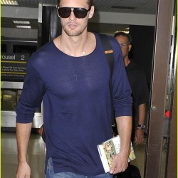 Alexander Skarsgård is back in Los Angeles