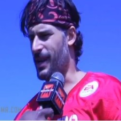 "Joe Manganiello talks football and ""wolfing out"""