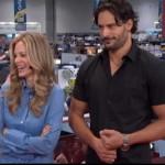 Video: Kristin Bauer and Joe Manganiello interviewed at Comic Con
