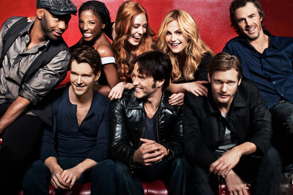 true blood season 3 dvd cover. New True Blood cast photo from
