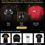 New Werewolve gear in the HBO Shop