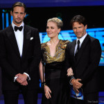 Video: Alexander Skarsgård, Anna Paquin and Stephen Moyer presenting at the 2010 Emmy Awards