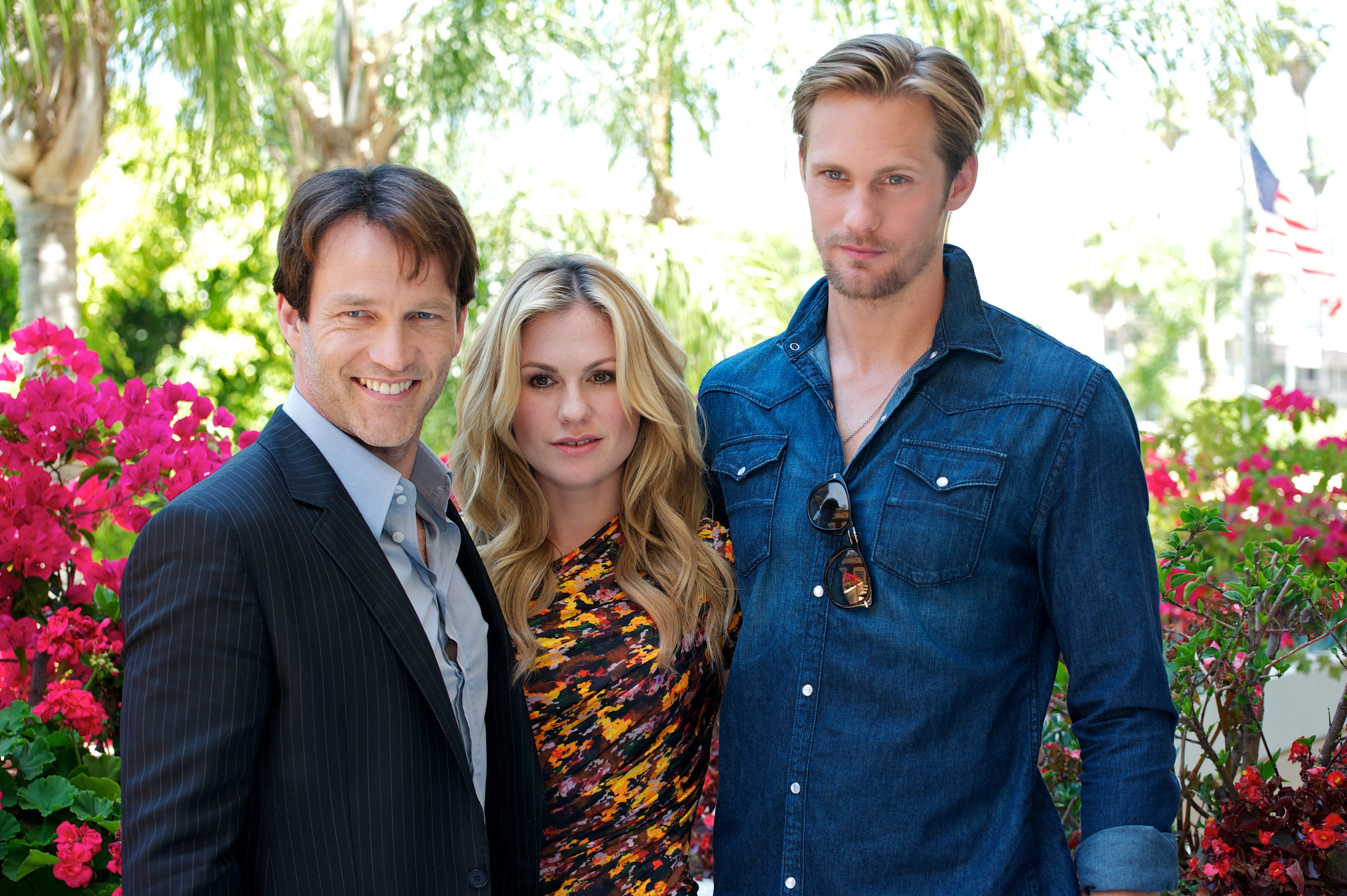 Anna Paquin, Stephen Moyer and