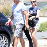 Stephen Moyer and Anna Paquin out in Malibu