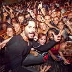 Joe Manganiello is loving the attention in Boston
