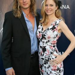 Kristin Bauer and Abri van Straten attend Oceana summer party