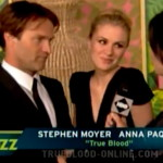 Anna Paquin and Stephen Moyer are registered at Blood, Bath and Beyond