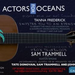 Actors for Oceans event postponed to November 13