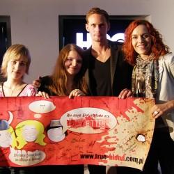 Alexander Skarsgård meets True Blood fans in Poland