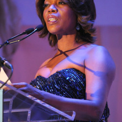 Alfre Woodard attends Blue Scholarship Gala and Healthy Media for Youth Summit