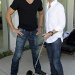 Joe Manganiello and James Frain attend Canine Couture launch