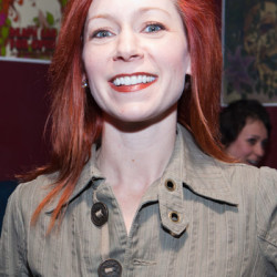 """Carrie Preston attends """"That's What She Said"""" wrap party"""