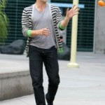 Anna Paquin and Stephen Moyer go to the Movies at the Arclight Theater