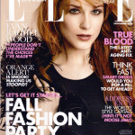 Evan Rachel Wood on the cover of Elle Canada