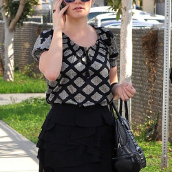 Anna Paquin out and about in LA