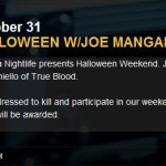 Spend Halloween with Joe Manganiello at the Borgata