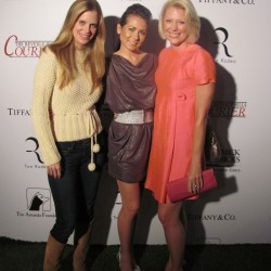 Kristin Bauer and Tara Buck support Amanda Foundation to rescue dogs.
