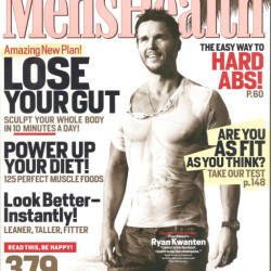 Ryan Kwanten super fit on the cover of Men's Health
