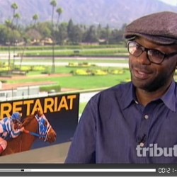 "Video Interview with Nelsan Ellis for his new film: ""Secretariat"""