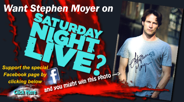 Giveaway: Get Stephen Moyer on SNL and win a signed photo
