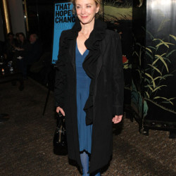 """J. Smith Cameron attends opening night of """"That Hopey Change Thing"""""""