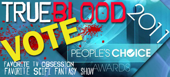 True Blood has been nominated for two People's Choice Awards