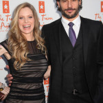 Kristin Bauer and Joe Manganiello attend the Trevor Live Show