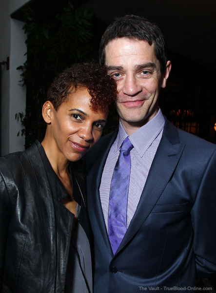 Rutina Wesley and James Frain attended the Miss Golden Globes Party