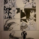 True Blood Drawing by David Messina on sale for charity on EBay