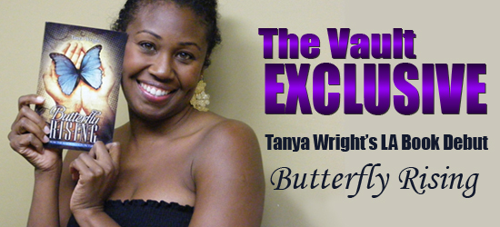 Vault Exclusive: Tanya Wright's LA Book Debut for Butterfly Rising
