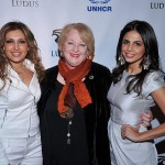 Dale Raoul attends benefit for United National Refugee Agency