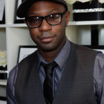 Nelsan Ellis and Brit Morgan check out the gift lounges