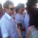 Ryan Kwanten attends Iceberg's New Year's Day party in Sydney