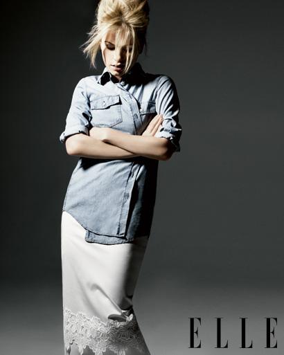 AnnaPaquin1 Anna Paquin in February 2011 Elle Magazine
