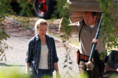 51598pcn trueblood07 medium 400x266 Photos: On the set of S4 of  True Blood
