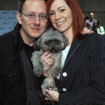 Carrie Preston and Michael Emerson are Little Dog People
