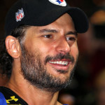 Joe Manganiello competes in Celebrity Beach Bowl