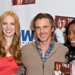 "True Blood cast sign ""All Together Now"" Comic in Los Angeles"