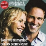 Anna Paquin and Stephen Moyer in Celebs Magazine