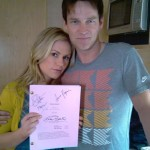True Blood script signed by Ball, Paquin and Moyer up for charity auction