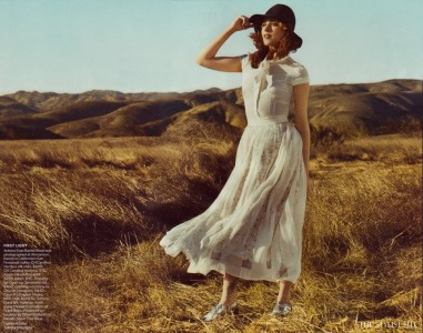 vogue us march 2011 evan rachel wood in pure country 1 381x300 Vogue Magazine features Evan Rachel Wood