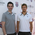 Ryan Kwanten and James Frain attend the 7th Annual K-Swiss Desert Smash