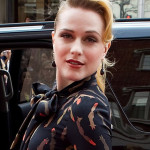 """Evan Rachel Wood at the premiere of """"The Conspirator"""""""